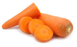 Tranche de carotte d'isolement Photo libre de droits