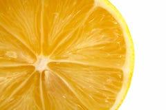 Tranche de citron Images libres de droits