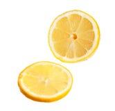 Tranche de citron Photographie stock libre de droits
