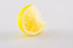 Tranche de citrons photographie stock