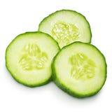 Tranche de concombre Image stock
