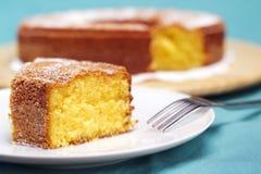 Tranche de gâteau Photo libre de droits