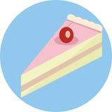 Tranche de gâteau Image libre de droits
