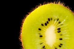 Tranche de kiwi Photographie stock