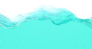 Tranche de l'eau Photographie stock libre de droits