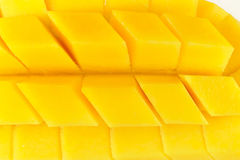 Tranche de mangue Images stock