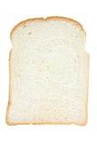 Tranche de pain blanc photos stock