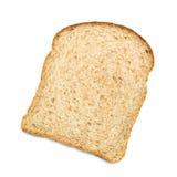 Tranche de pain complet photo stock