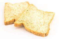 Tranche de pain de Brown  Photos stock