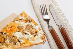 Tranche de pizza Images libres de droits
