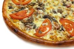 Tranche de pizza Photographie stock