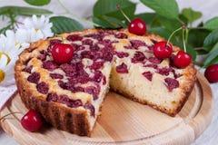 Tranche de tarte herry de  de Ñ Photographie stock