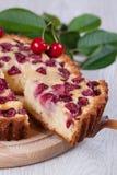 Tranche de tarte herry de  de Ñ Images stock