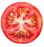 Tranche de tomate Images stock
