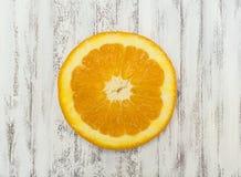 Tranche orange Image libre de droits