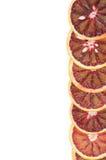 Cadre des oranges sanguines Photo stock