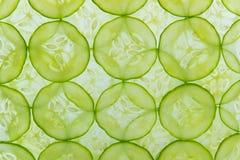 Tranches de concombre Image libre de droits