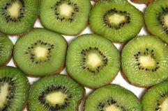 Tranches de kiwi Photographie stock