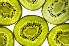 Tranches de kiwi Image stock