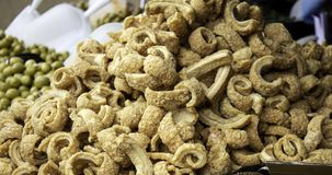 Tranches de lard frites crues photo stock
