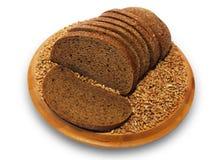 Tranches de pain. Photos libres de droits