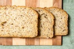 Tranches de pain Photographie stock libre de droits