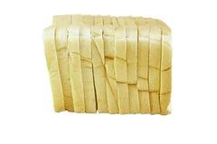 Tranches de pain dans la pile Images stock