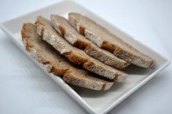 Tranches de pain de Rye Images libres de droits