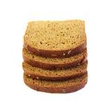 Tranches de pain de seigle Photo stock
