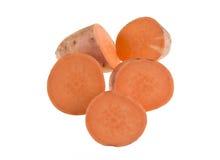 Tranches de patate douce Photos libres de droits