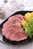Tranches de viande Photographie stock libre de droits