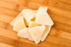 Tranches gommeuses organiques de pamplemousse Photo stock