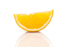 Tranches oranges Images stock