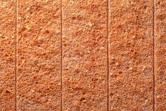 Tranches sèches de pain Images libres de droits