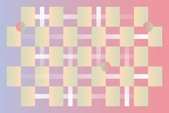 Trandy-Farbmusterhintergrund vektor abbildung