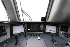 Trane operator's cab Royalty Free Stock Photos
