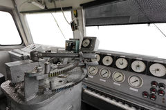 Trane operator's cab Stock Image