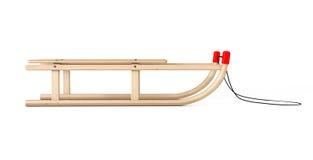 Traîneau en bois classique Image stock