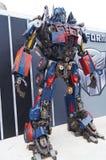 Tranformer机器人展示 免版税图库摄影