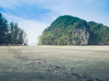 旅行海海岛Trang市南部从泰国 免版税库存图片