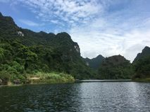 Trang An Landscape Complex, Vietnam Royalty Free Stock Photography