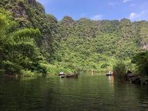 Trang Krajobrazowy kompleks, Wietnam obrazy stock