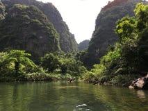 Trang um complexo da paisagem, Vietname fotos de stock