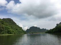 Trang un complexe de paysage, Vietnam photographie stock