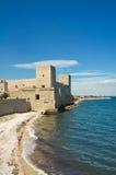 Замок trani Апулия Италия Стоковые Фотографии RF