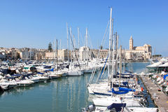 Trani along the Adriatic coast, Italy Royalty Free Stock Photos