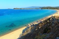 Trani Ammouda beach( ; Halkidiki, Greece) ; photographie stock