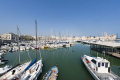 Trani (Apulia) - Harbor Royalty Free Stock Images