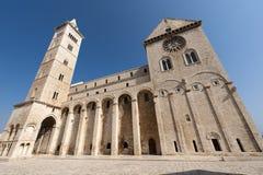 Trani (Apulia, Italia) - cathedra medioevale Fotografia Stock Libera da Diritti