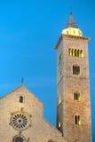 Trani (Apulia, Italie) - cathédrale médiévale Photos libres de droits